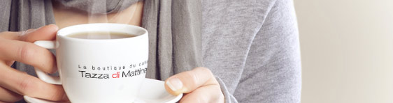 Drinking Coffee (Banner)