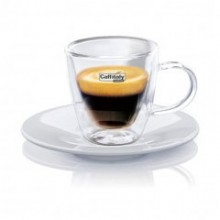 Caffitaly espresso cups - double